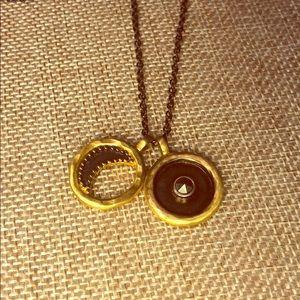 satya sun & moon necklace